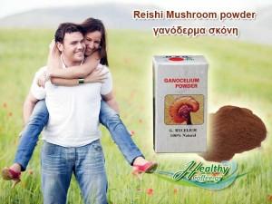 reishi-mushroom-powder-γανόδερμα-σκόνη